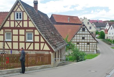 Finsterlohr, Baden-Wuerttemberg, Germany