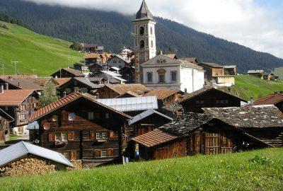 Vrin, Graubünden, Switzerland